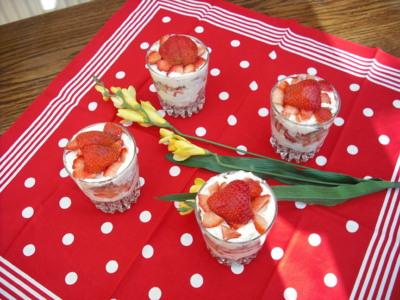 Blog de chacha : Les desserts de Chacha, Verrines croquantes