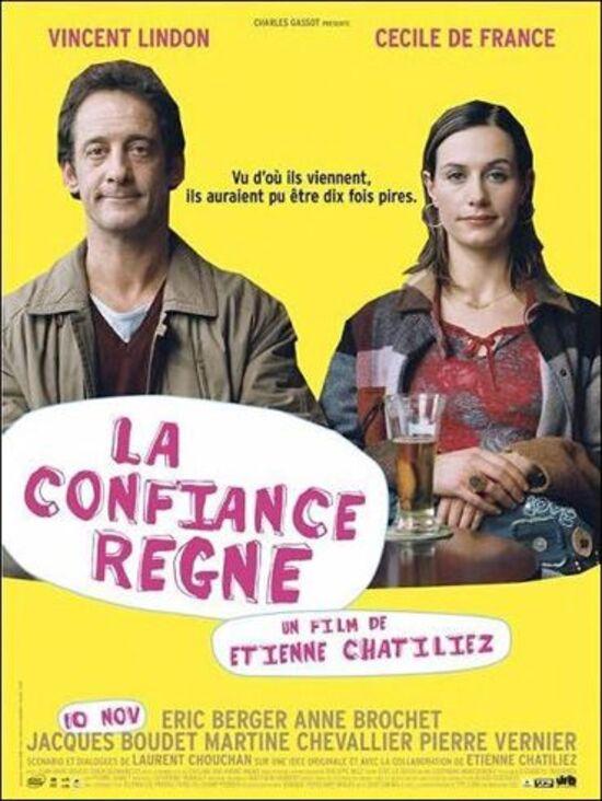 LA CONFIANCE REGNE BOX OFFICE FRANCE 2004