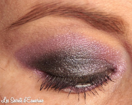maquillage, makeup, mu, violet, gris, grey, dark, purple, kiko