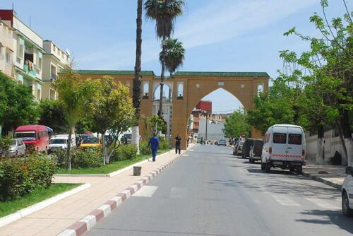 Porte ouest de Ouzanne