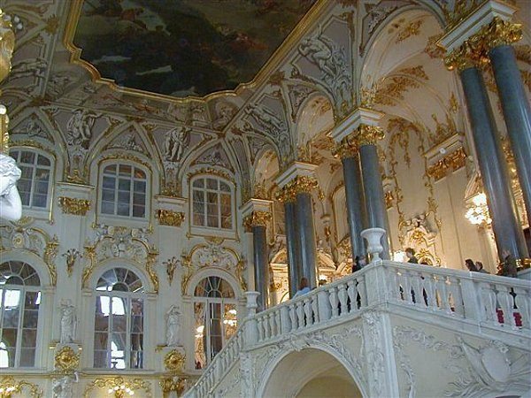 Hermitage St Petersburg Interior 20021009