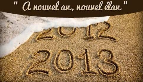 bye 2012 bonjour 2013