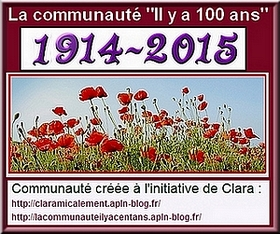 Il y a 100 ans : 1914-2015
