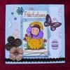 Carte de Pâques pour Sandraelle