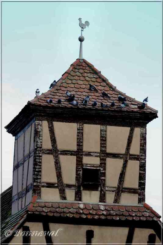 Pigeonnier intégré à l'habitation Logelheim Haut-Rhin