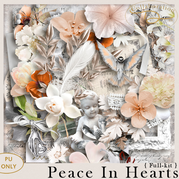 Peace in Hearts { Full-Kit } by Collaboration