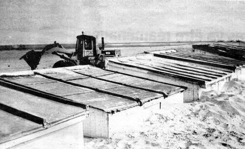 Lorsque les dunes se formaient sur la digue Gaston-Berthe