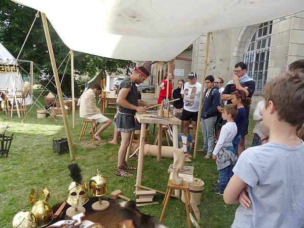 Les Hoplites en Galatia sont revenus au Musée du Pays Châtillonnais-Trésor de Vix...