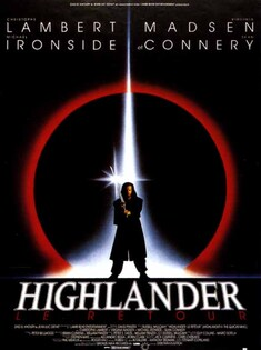 HIGHLANDER 2 BOX OFFICE FRANCE 1991