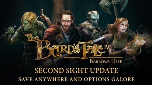 PATCH : The Bard's Tale : Barrows Deep, second Sight*