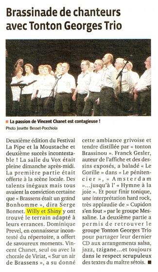 W&S au VOX à Bourre en Bresse !