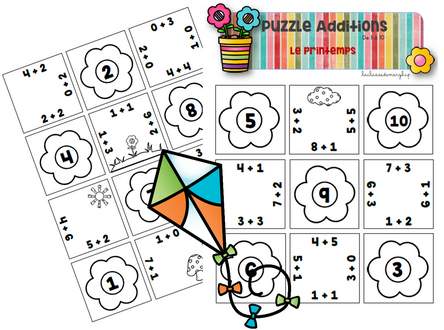 Puzzle Additions - Le printemps