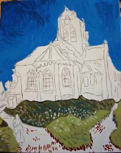Van Gogh - L'église d'Auvers-sur-Oise