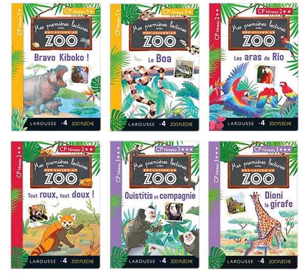 Mes Premieres Lectures Avec Une Saison Au Zoo Coraliecaramel