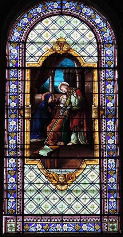 l'église Saint Vivien à Saintes -4
