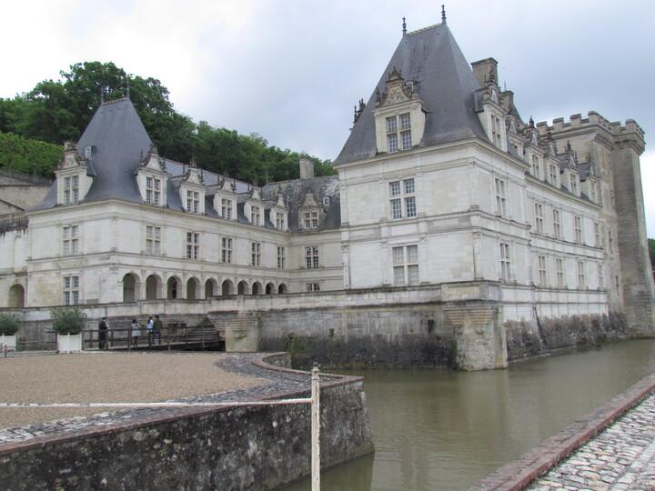 LE CHATEAU DE VILLANDRY . INDRE ET LOIR .  37510