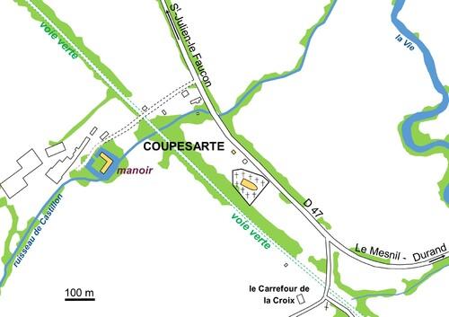 LES REMPARTS DE COUPESARTE (Calvados)