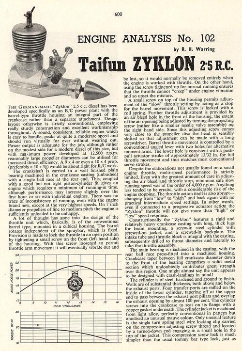 Moteur Taïfun Zyklon
