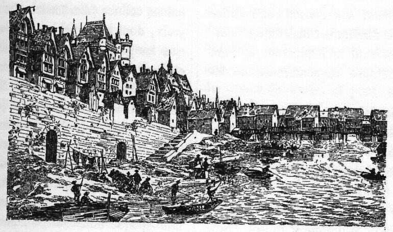 Grand Châtelet, Saint Leuffroy et Pont aux Meuniers