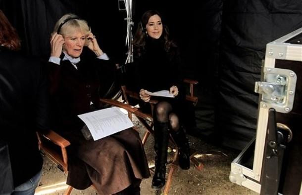 Camilla et Mary à la télé