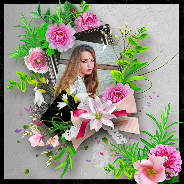 Dis lui avec des fleurs by JosyCreations