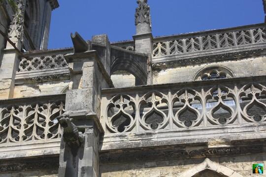 NORMANDIE mai 2017 :  CHERBOURG : Basilique Sainte Trinité