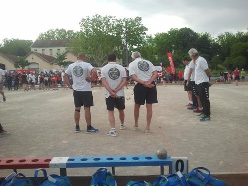 Grand prix bouliste de Bellecour 2 équipes villeneuvoise font un beau parcours