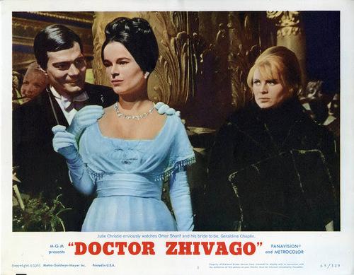 DOCTEUR JIVAGO - OMAR SHARIF BOX OFFICE 1966