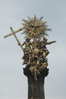 1560 colonne de la sainte Trinité Place Horni nam Olomouc