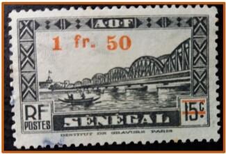 Timbre du Sénégal
