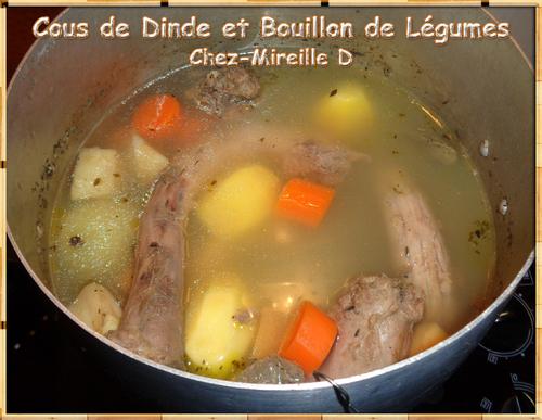 Cous de Dinde et Bouillon de Légumes