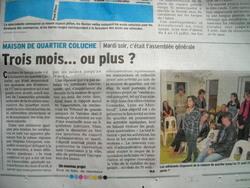 Des nouvelles de la Maison de quartier Coluche...Romans sur Isère 26...