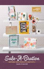 Le catalogue Printemps-Eté et Sale-A-Bration