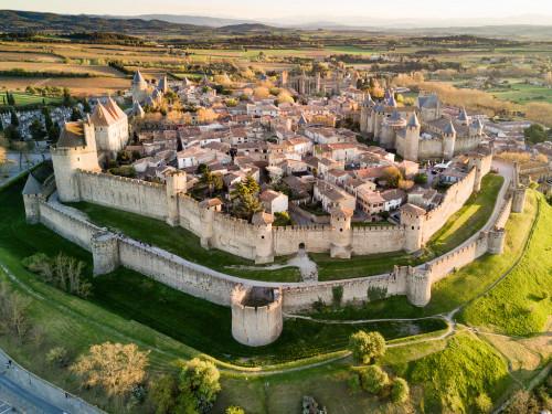 Carcassonne  (Aude) 1/2