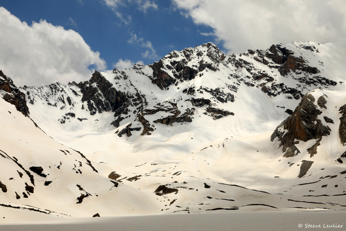Montée vers le lac Mutnoye, Tadjikistan