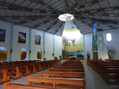 L'église de Puerto Villamil, Isabela