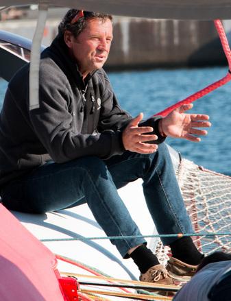 Portrait de skippers