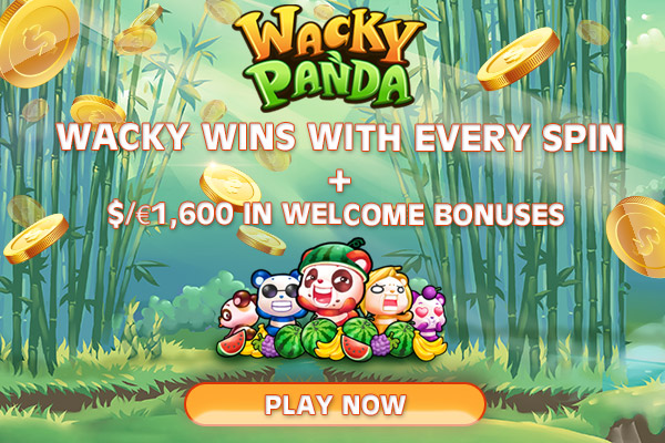 Wacky Panda is a simple 3 reel, 1 payline slot from Microgaming that is playable on all devices from just 1p a spin jLfzdYHyzSckCbWbKXYF4XWJnj8