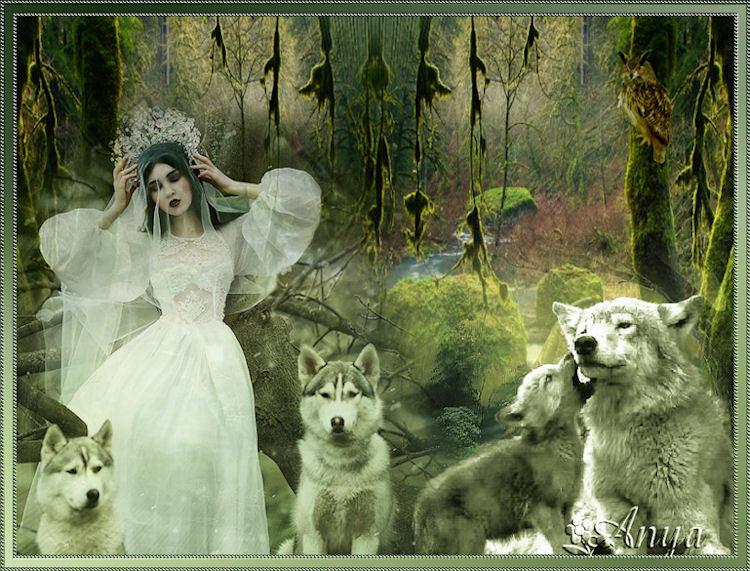 créa loup Anya-Annie