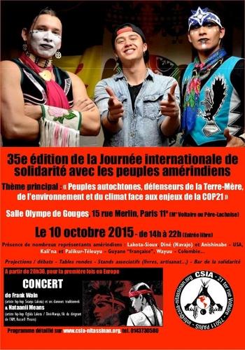 Solidarité Peuples Amérindiens