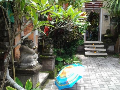 Belle ombrelle à Bali