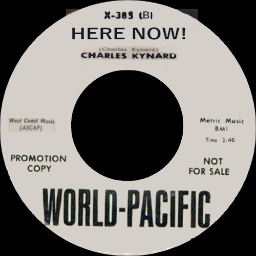 "Charles Kynard Featuring Clifford Scott ‎: Album "" Where It's At ! "" Pacific Jazz Records ST-72 [ US ]"