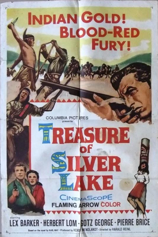 TREASURE OF THE SILVER LAKE BOX OFFICE USA 1965