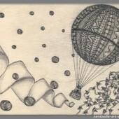 Zendoodle : La montgolfière 1