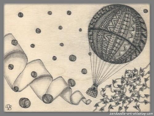 Zendoodle : la boite montgolfière