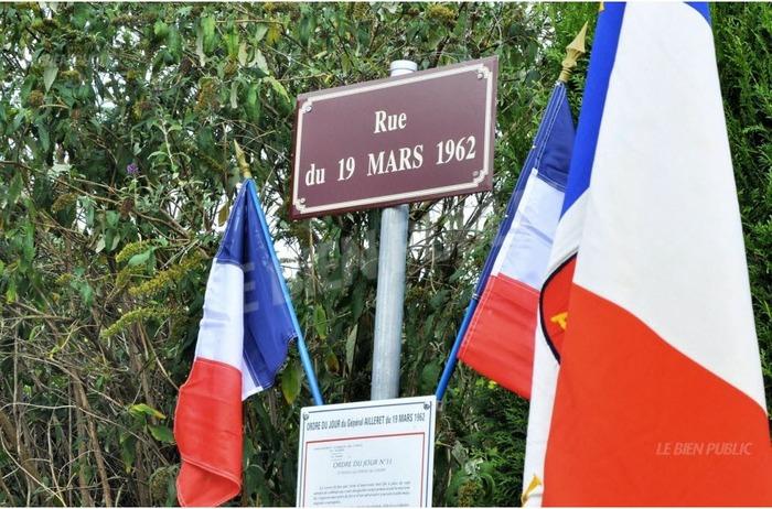 Une place du 19-Mars-1962 à Bard-le-Régulier et une rue du 19-Mars-1962 à Marcheseuil (Côte-d'Or)