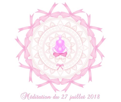Méditation du 27 juillet 2018