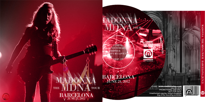 The MDNA Tour - Full Audio Barcelona - June 21