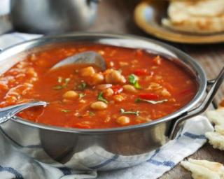 Pois chiches soupe marocaine