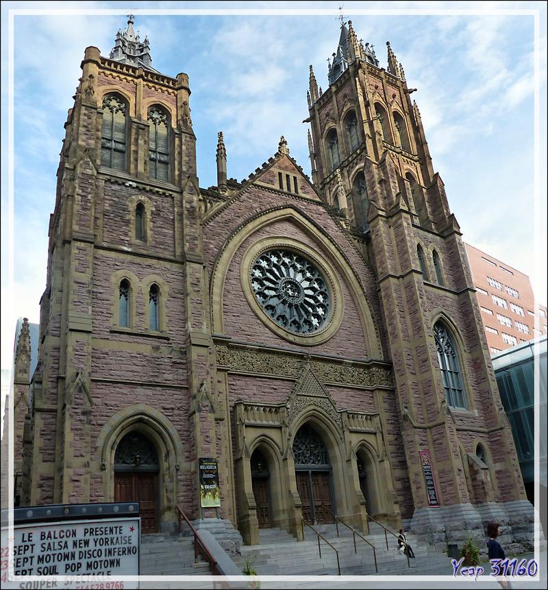19 septembre 2016 : dernieres visites. L'Église Unie Saint-James - Montréal - Canada